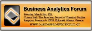 Business Analytics Forum