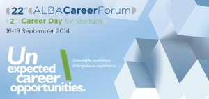 22o ALBA Career Forum | 16-19 Σεπτεμβρίου