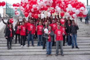 1a. Greece_team_Athens_AdeccoStreetDay-1